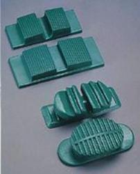 Cast Splinting Mater resiliency and long wear from a specialized synthetic rubber * Deep tread provides good patient comfort and stability by allowing regular heel-toe walking * Center slot permits easy and secure application * Curved surface and tread ensure comfort and safety for active patients * 4.75
